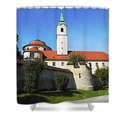 Benedictine Abbey Shower Curtain