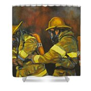 Benevolent Warriors Shower Curtain