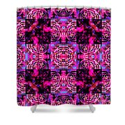 Bengal Tiger Abstract 20130205p0 Shower Curtain