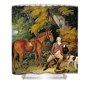 Benjamin Bond Hopkins, Before 1791 Shower Curtain