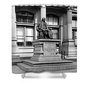 Benjamin Franklin Statue Philadelphia Shower Curtain