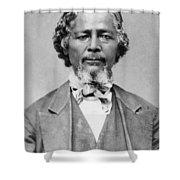 Benjamin 'pap' Singleton (1809-1892) Shower Curtain
