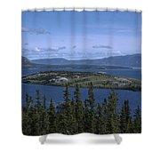 Bennet Lake Shower Curtain