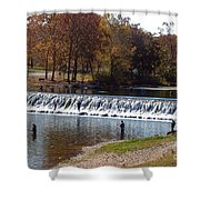 Bennett Springs Spillway Shower Curtain