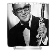 Benny Goodman (1909-1986) Shower Curtain