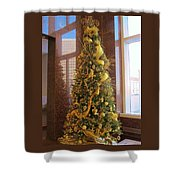 Benson Towers - Fleur De Lis Tree - New Orleans La Shower Curtain