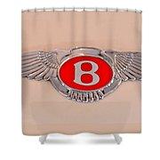 Bentley Emblem Shower Curtain