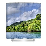 Beqa Island - Fiji Shower Curtain