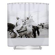 Berber Horsemen Shower Curtain