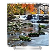 Berea Falls Ohio Shower Curtain