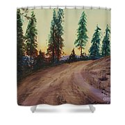 Bergebo Forest Shower Curtain
