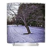 Berkshires Winter 2 - Massachusetts Shower Curtain