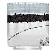 Berkshires Winter 2 - Massachusetts Shower Curtain