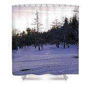 Berkshires Winter 5 - Massachusetts Shower Curtain by Madeline Ellis