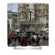 Berlin Alexanderplatz Shower Curtain