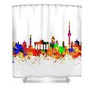 Berlin Brandenburg Gate - 2 Shower Curtain