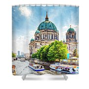 Berlin Cathedral Shower Curtain