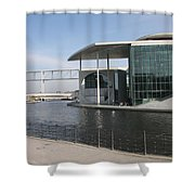 Berlin Government Building - Germany Shower Curtain