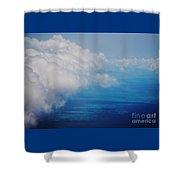 Bermuda Aerial # 1 Shower Curtain