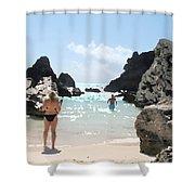 Bermuda Bikini Shower Curtain