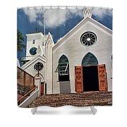 Bermuda Church Shower Curtain