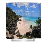 Bermuda Cliffside Shower Curtain