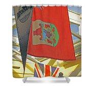 Bermuda Dockyard Shower Curtain