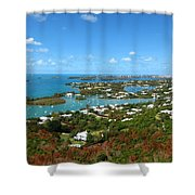 Bermuda From Gibbs Hill Lighthouse Shower Curtain
