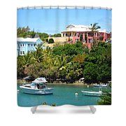 Bermuda In May Shower Curtain