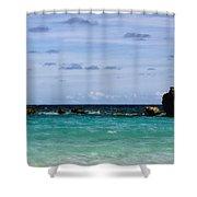 Bermuda Skies Shower Curtain