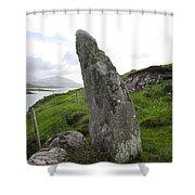Bernera Stone Near Water Shower Curtain
