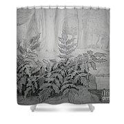 Bernheim Forest Plant Shower Curtain