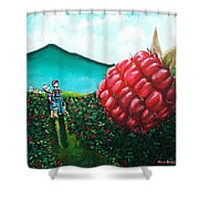 Berried Alive Shower Curtain