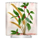 Berry Shower Curtain