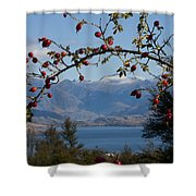 Berry Good View Shower Curtain