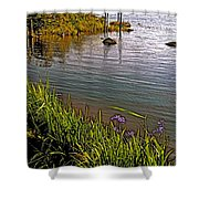 Berry Hill Pond In Gros Morne Np-nl Shower Curtain
