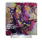 Violet Dawn Shower Curtain