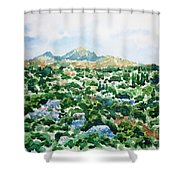 Beshtau Shower Curtain