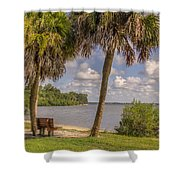 Beside The Shore Shower Curtain
