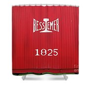 Bessemer Train Shower Curtain