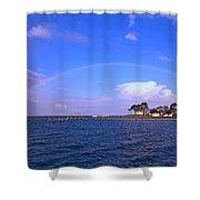 Best Complete Rainbow Over Santa Rosa Sound2 Shower Curtain