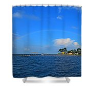 Best Complete Rainbow Over Santa Rosa Sound3 Shower Curtain