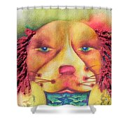 Best In Show Dog A Tude One Shower Curtain