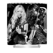 Stellar Musicians Beth Garner Ivalee Pitts Nashville Tennessee Shower Curtain