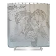 Bethany Shower Curtain by Justin Moore
