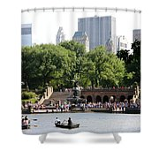 Bethesda Terrace And Fountian Nyc Shower Curtain