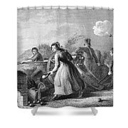 Betsy Doyle A Soldiers Wife Helping Shower Curtain