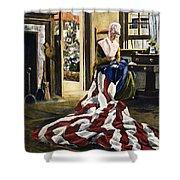 Betsy Ross (1752-1836) Shower Curtain
