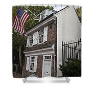 Betsy Ross House Philadelphia Pennsylvania Shower Curtain