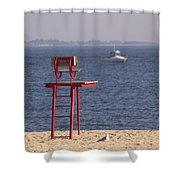 Better Days Ahead Shower Curtain